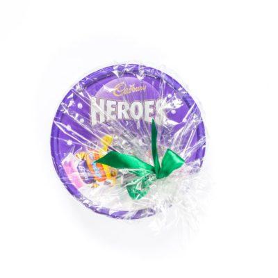 Šokolādes konfektes Cadbury Heroes dāvanu iepakojumā 660g.