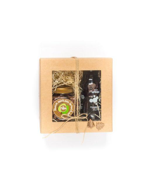 Ābolu sukādes + Upeņu sīrups dāvanu komplekts