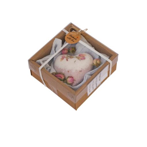 Saldo mandeļu burbuļbumba dāvanu iepakojumā
