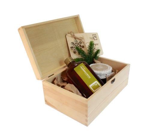 """Komplekts koka kastē """"Veselība"""""""