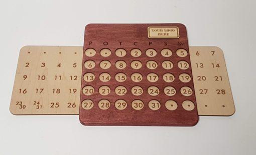 Sienas koka kalendārs