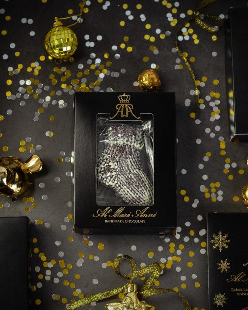 Tumšās šokolādes figūriņa ar piparkūku garšu 70g.